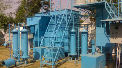 sewage treatment plant water testing